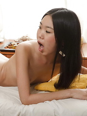 Young Angelina gets fucked bareback by a well hung masseur