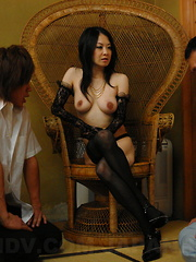 Sexy Sayoko Machimura gets her cunt drilled
